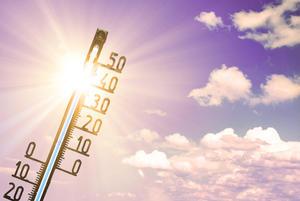 Sommerhitze: 35 Grad Celsius auf dem Thermometer