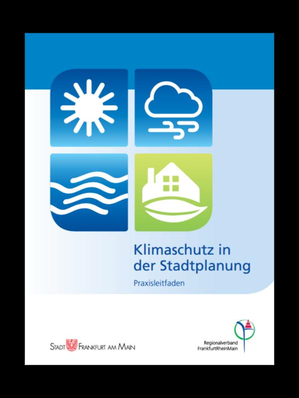 Cover vom Praxisleitfaden: Klimaschutz in der Stadtplanung