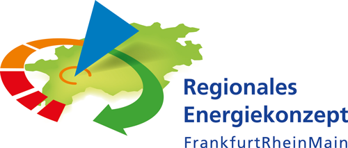Logo of the Regional energy concept FrankfurtRheinMain